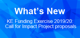 KE Funding Exercise 2019/20: Call for Impact Project proposals
