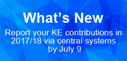 Report your KE contributions