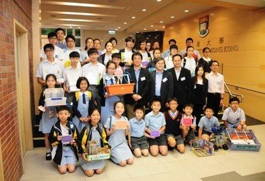 "HKU Faculty of Engineering holds ""Invention for Schools Contest"" award presentation ceremony"