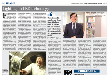High-energy efficient LED driver invented by HKU researchers and commercialized