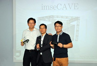 "HKU Faculty of Engineering creates innovative ""imseCAVE"" - a high performance, low cost, virtual environment for industrial applications and training"