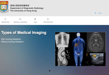 HKU Department of Diagnostic Radiology launches a new knowledge exchange website: Medical Imaging and Radiation