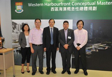 HKU plans for new Western Gateway at Western Harbourfront
