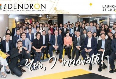 HKU launches Innovation & Entrepreneurship Hub: iDendron