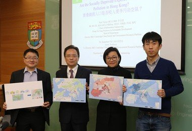 HKU study reveals city's socially deprived exposed to more polluted air