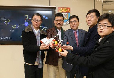 "HKU medical chemists discover peptic ulcer treatment metallodrug effective in ""taming"" superbugs"
