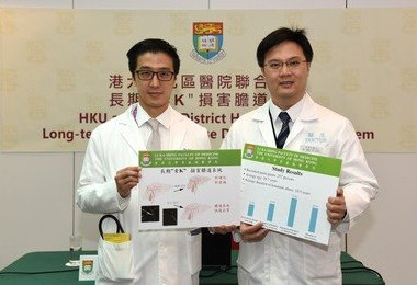 HKU medical research team reveals damage to biliary system by ketamine abuse reversible after quitting