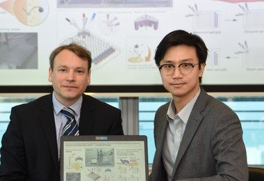 HKU and Imperial College London develop a new robotic platform technology for inexpensive diagnosis of reproductive disorder