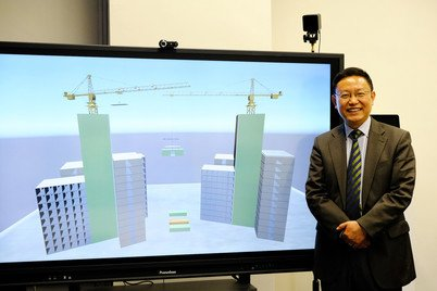 Dr Wei Pan and smart MiC at HKU Construction Informatics Laboratory