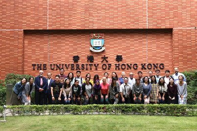 Professor Karen Laidler (first from right in the front row) at the Human Rights and Drug Policy Workshop in East and Southeast Asia 2017 jointly organised by the Centre for Criminology and Open Society Foundation at HKU in October 2017