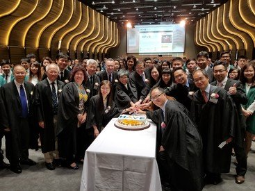 University HAVE, U Can High Table Dinner with academics and two hundred students from six universities in Hong Kong