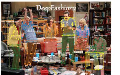 DeepFashion is the largest benchmark in the research community for understanding fashion images such as clothing brands, categories, and even identifying a single clothing item