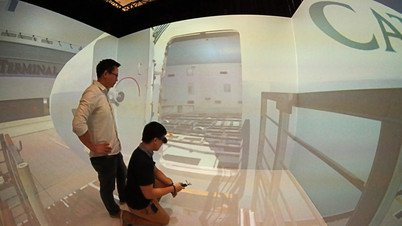 Cathay Pacific Services Limited ramp operation VR training system