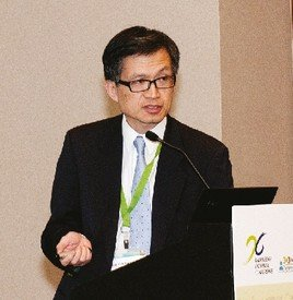 Prof. Y L Kwong at the KE Conference