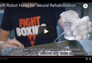 A Soft Robot Hand for Neural Rehabilitation of Degenerative Neurological Diseases and Strokes