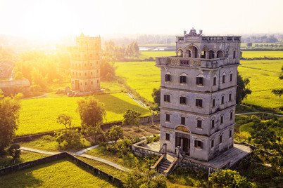 Kaiping Diaolou and Villages became World Heritage site in 2007