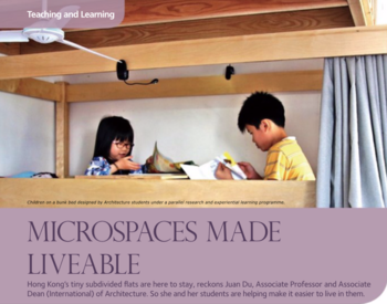 Microspaces Made Liveable
