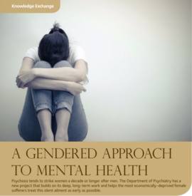 A Gendered Approach to Mental Health